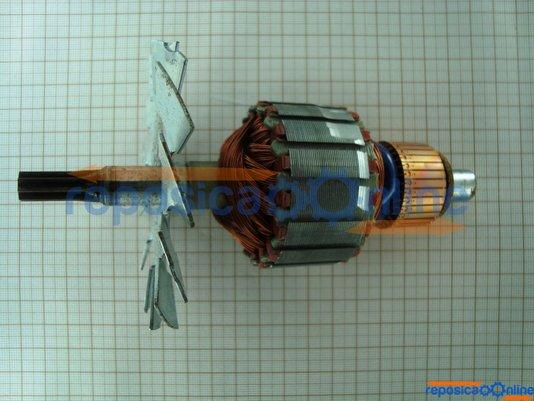 Induzido / Rotor 220V para serra circular Skil 5150 - Codigo antigo 2610341307 Coigo Atual - 2610341429