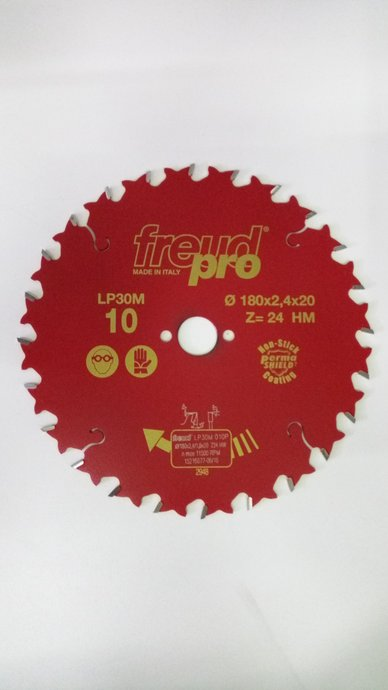 Disco de Serra Circular 180mm Freud LP30M 010 - F03FS03647