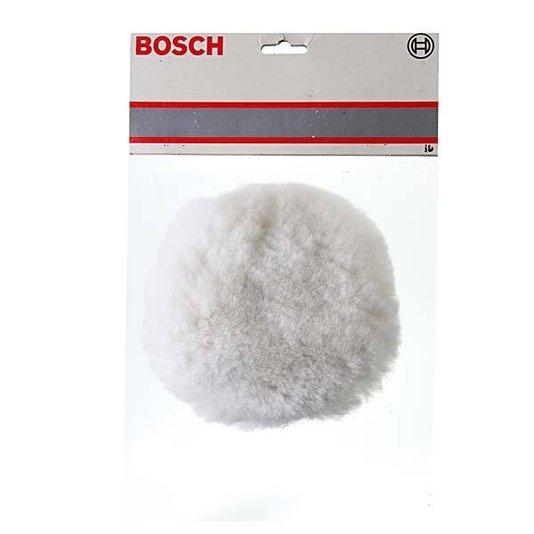 """Boina De Pele Bosch 8"""" Para Politriz - 9618085307"""