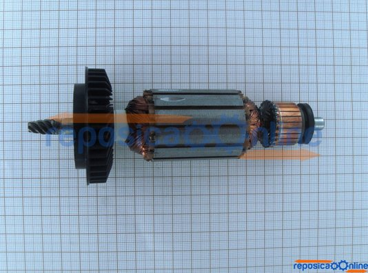 Induzido / Rotor 220v Para Politriz 4 1/2 Bosch 1374 Gns 5-100 - 9618089082