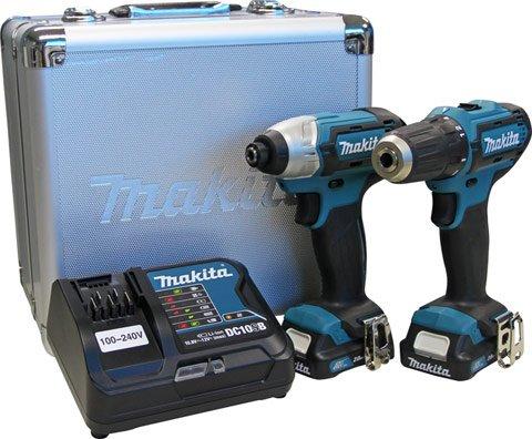 Combo de Parafusadeiras à Bateria 12V Makita - CLX201SAX