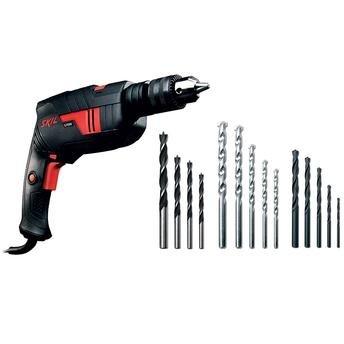 Skil 6555 Furadeira 13mm 570w + 14brocas 220v - F0126555jk - Bosch  - F0126555jk