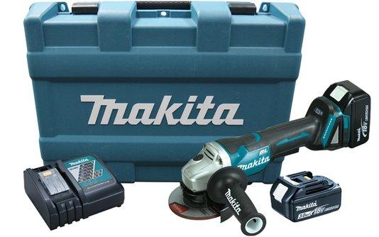 Esmerilhadeira Angular à Bateria 18V Makita - DGA455RFE-220V