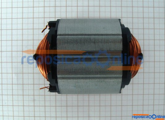 Estator / Bobina de Campo 220V para furadeira Bosch 1126 / 1129 / 1163 / 1125 /1182 / 1198 /3110 / 1121 /1123 - 2604220429