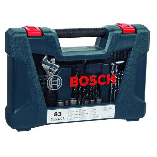 Caixa Ferramentas Bosch VLine com 83 peças 2607017403 - 2607017403