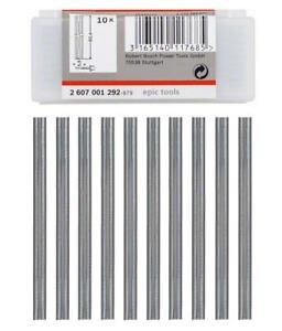Conjunto de Facas para Plaina com 10 peças Bosch - 2607001292
