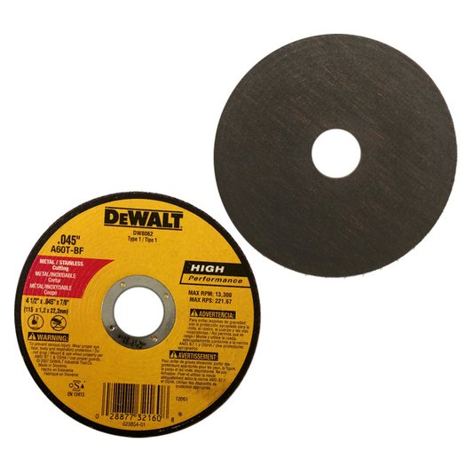 Kit com 10 unidades Disco de Corte/Abrasivo Dewalt DW8062