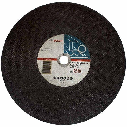 "Disco De Corte Para Ferro 2 Telas 14"" Gr30 Bosch   - 2608602759"
