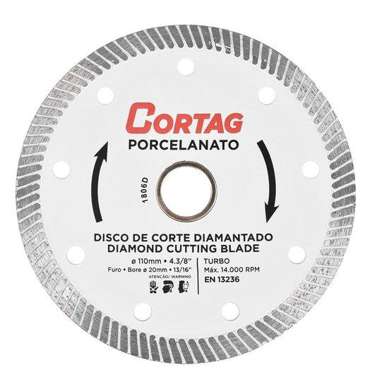 Disco Diamantado Porcelanato - 60863 - Cortag  - 60863