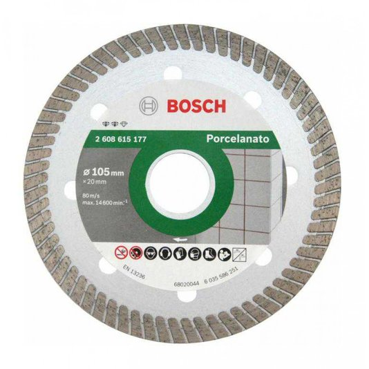Disco Diamantado Turbo Fino 105mm Expert Bosch  - 2608615177