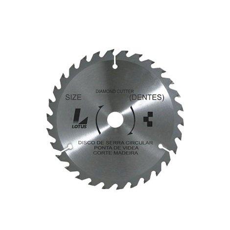Disco Serra Videa Madeira 180mm 30d 100/10 - 5824 - Lotus - 5824