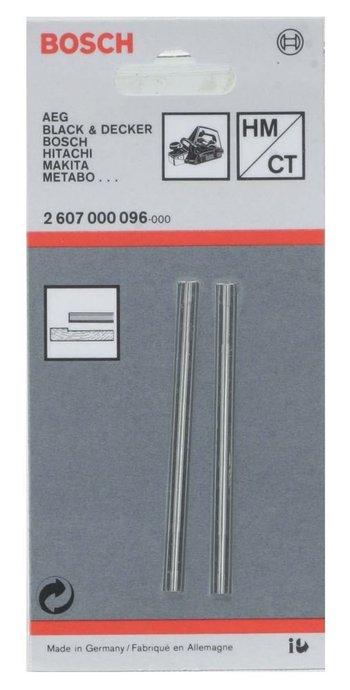 Lâmina / Faca Estreita Para Plaina C/ 2 Peças 3272/3365 Bosch - 2607000096