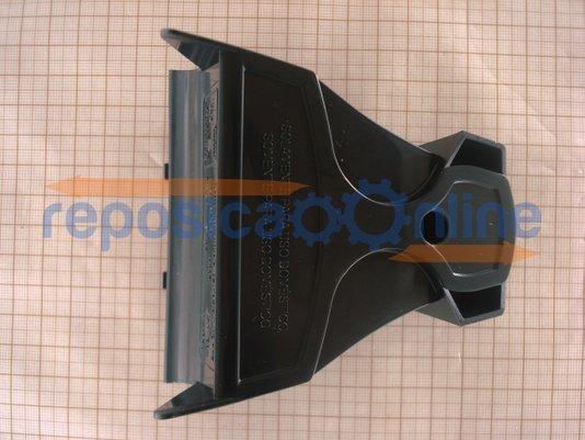 Tampa Traseira Preta Gravada De Ferro à Vapor X5 127v Black&decker - N404146