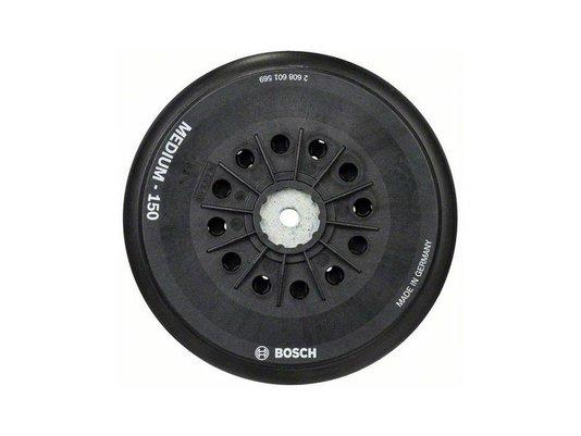 Base Disco de Lixa Auto Aderente Bosch Multifuros 150mm Médio - 2608601569