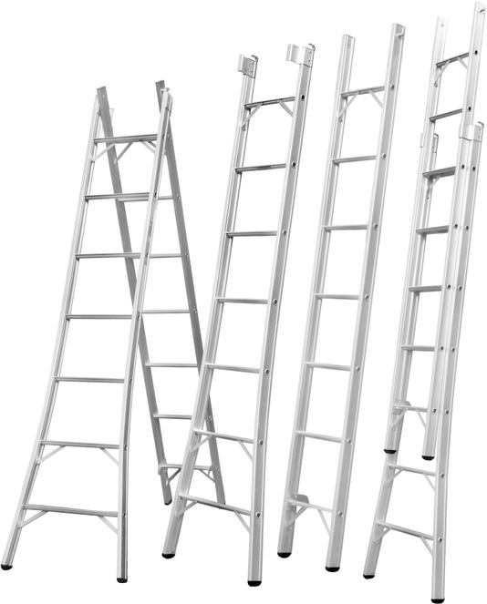 Escada De Alumínio Gibafer Extensiva 2x15 - Epe15