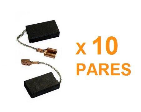 Escova de carvao Bosch - F000611090 - kit com 10 pares