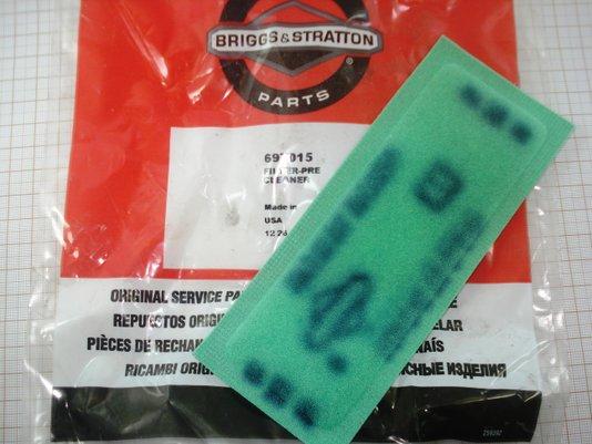 Filtro De Ar Para Motores Briggs - 697015