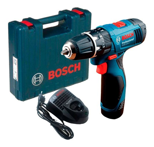 Parafusadeira Gsb 120-li Bivolt Com Maleta Bosch - 06019g81e0