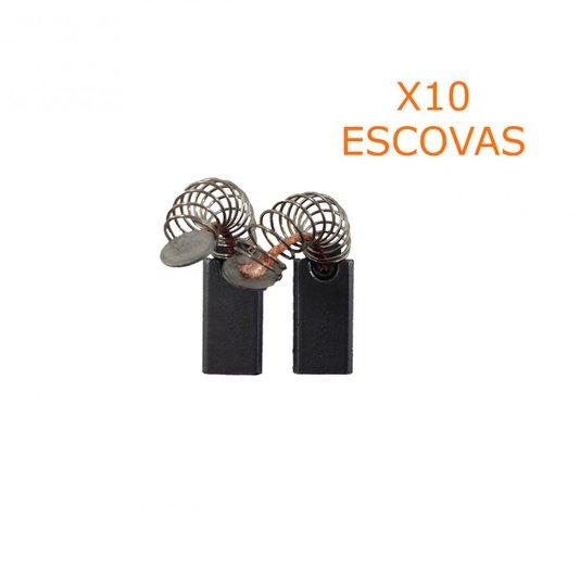 Jogo 10 Pares De Escova De Carvão Código Da Peça1607014117 Bosch