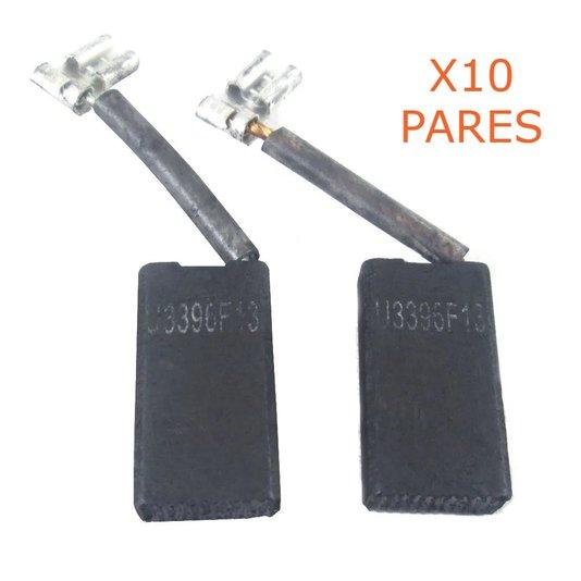 Kit 10 Pares De Escova De Carvão 1619P06346