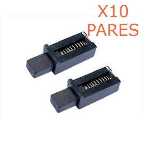 Kit 10 Pares De Escova De Carvão F000611007 Bosch