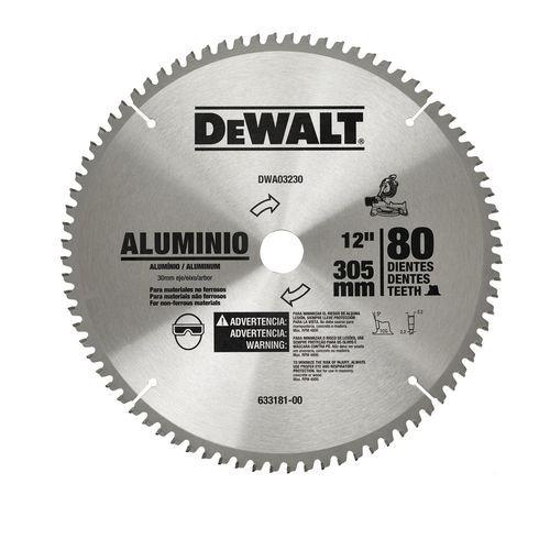 "Disco De Serra Para Alumínio 12"" Dwa03230 Dewalt - Dwa03230"