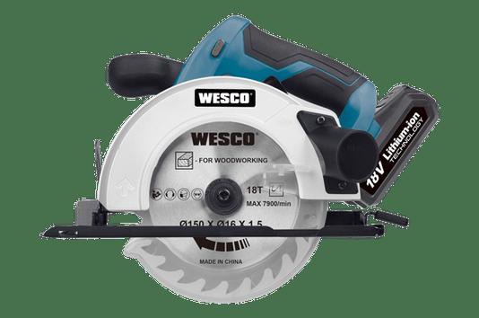 Serra Circular a Bateria 18V Wesco - WS2934