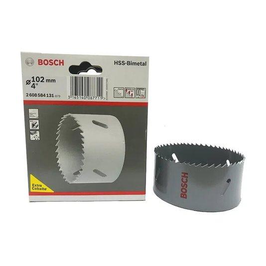 """Serra Copo Bim Com Cobalto 102mm 4"""" - 2608584131 - Bosch  - 2608584131"""