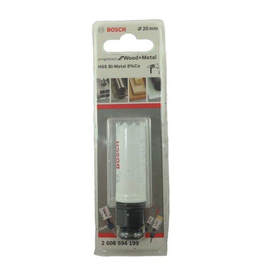 Serra Copo Progressor For Wood+met 20mm Bosch  - 2608594199