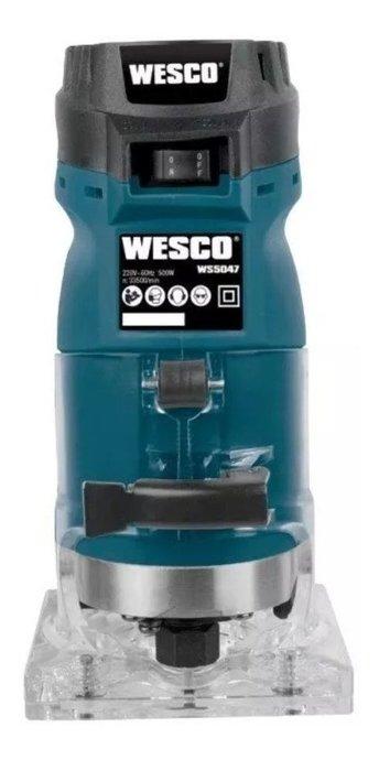 Tupia Laminadora 220v 500w Ws5047 Wesco   - Ws5047