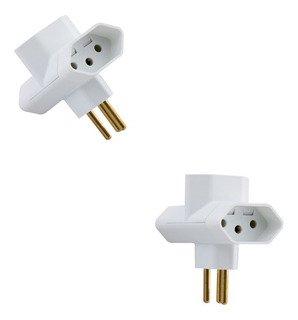 Kit 10 Plug T Branco 57400/071 Tramontina
