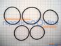 Conjunto Aneis O Ring  D51855 - Black&decker  - D51855sp01