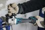 Motosserra + Esmerilhadeira à Bateria 18v Makita  - Duc252z-220kit